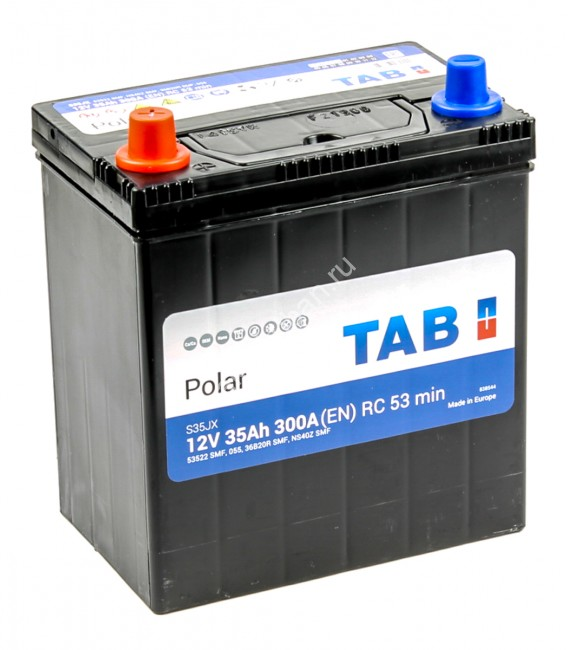 TAB Polar  6CT-35.1 (53522) яп. ст/тонк.кл. для автомобиля. Анапа